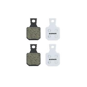 Sixpack Magura MT7 4-zuiger Remblok & Remschoen organisch beige
